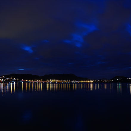 Nordhordlandsbroen at night, Sony ILCE-7, Sony FE 16-35mm F4.0 ZA OSS