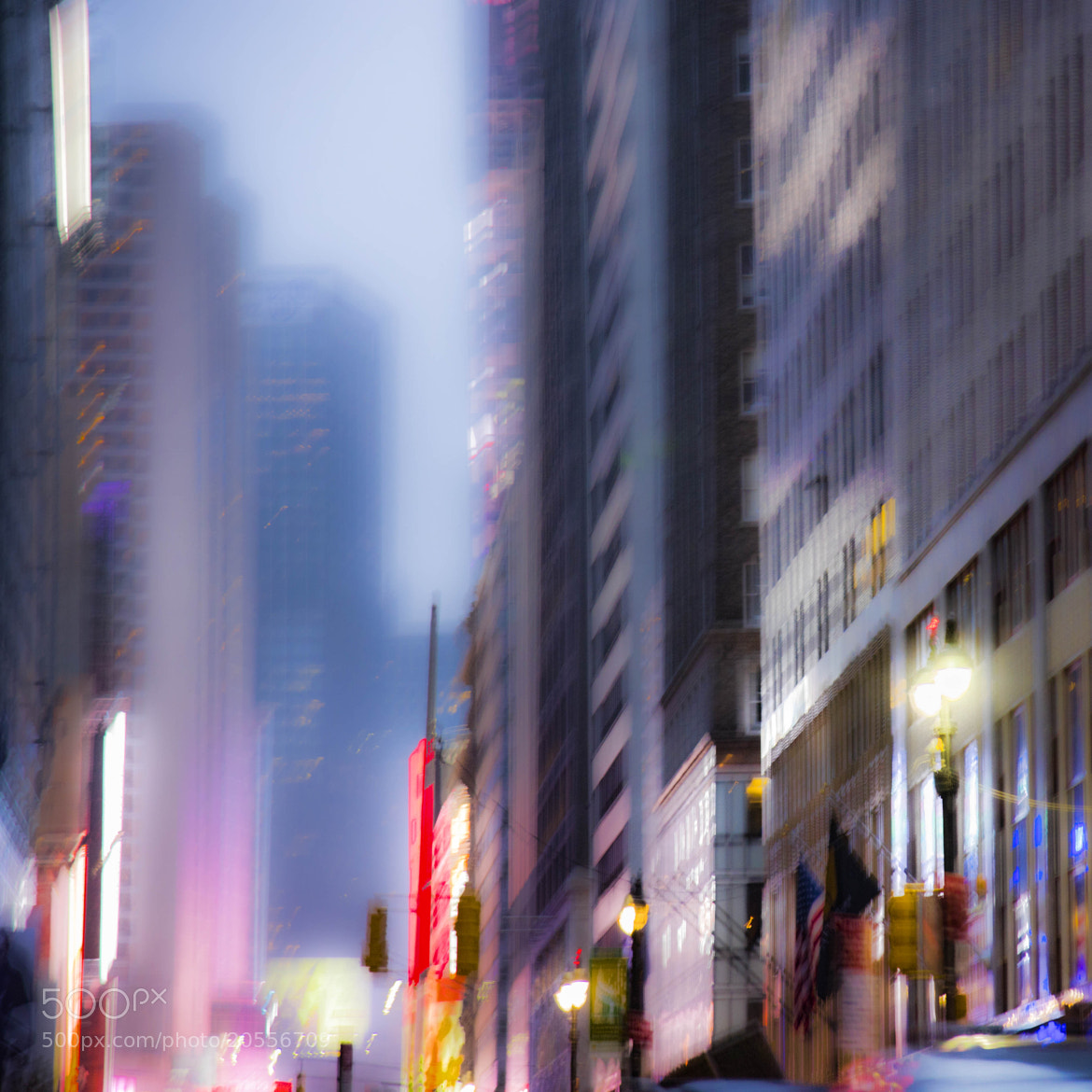 Photograph ManhattanTwilightBlur by Coolor Foto on 500px