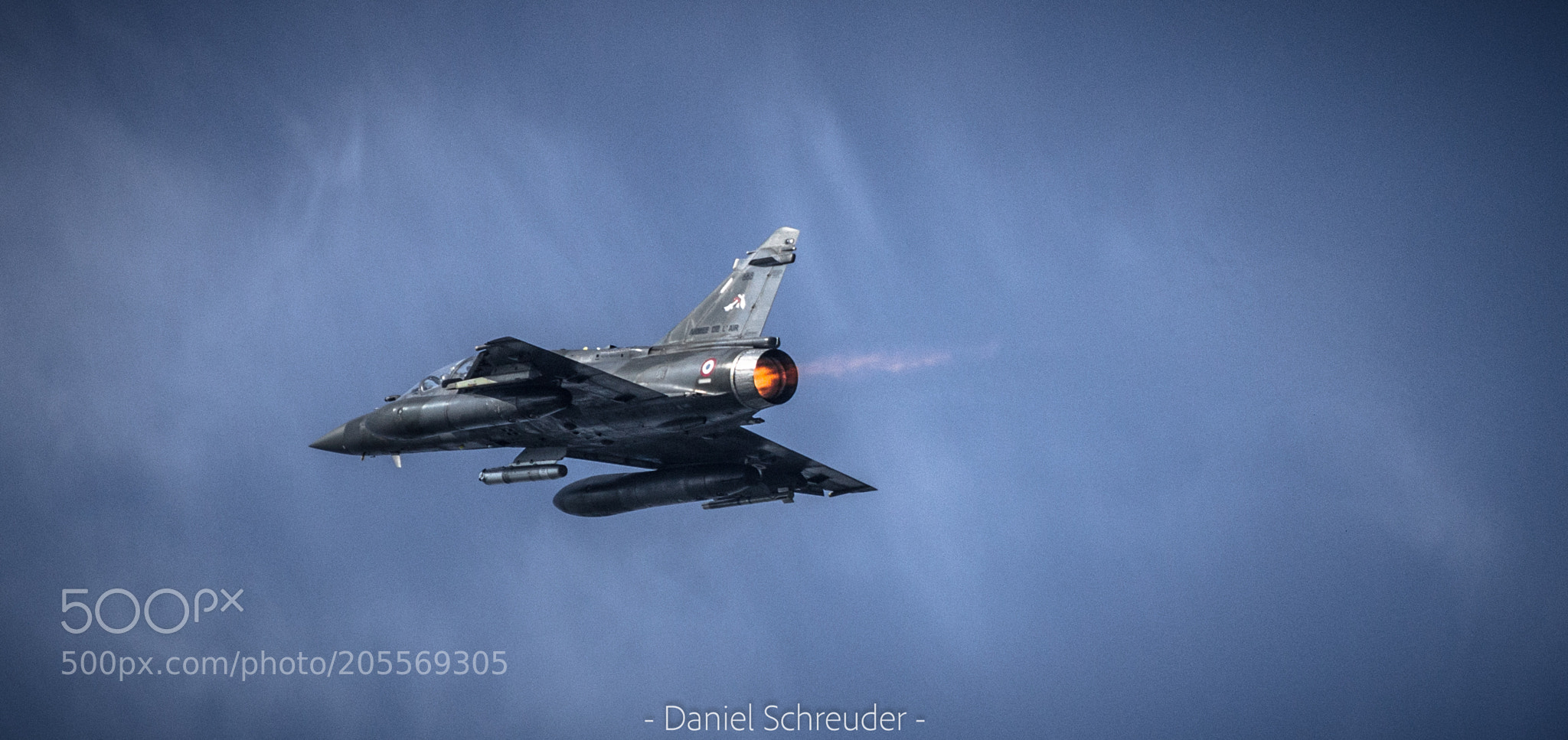 Mirage with afterburner