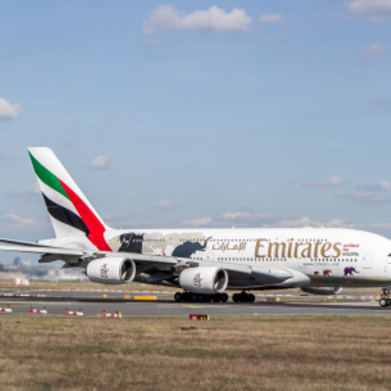 A380 Emirates, Canon EOS 600D, Tamron AF 18-270mm f/3.5-6.3 Di II VC LD Aspherical [IF] Macro