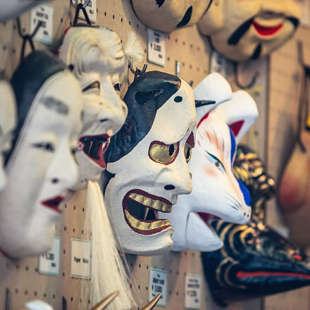 Masks, Canon EOS-1D MARK II, Canon EF 70-200mm f/2.8L IS