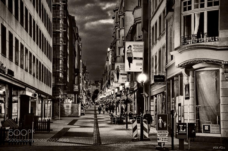 Photograph Night Luxembourg by Viktor Korostynski on 500px