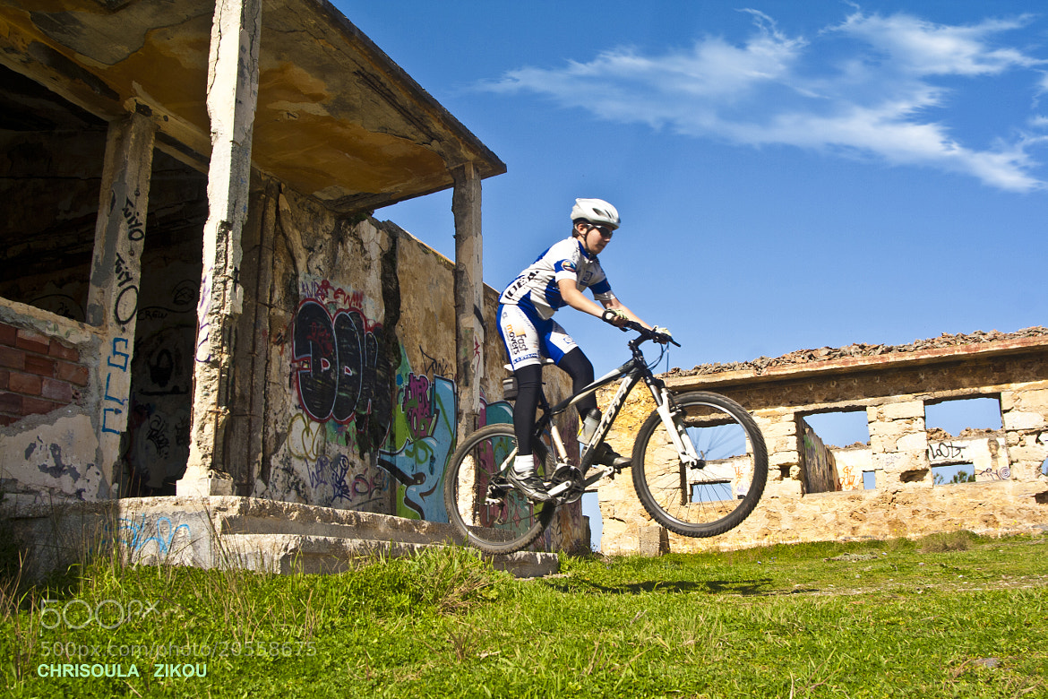 Photograph PLAYING WITH THE BIKE by Chriss Zikou on 500px