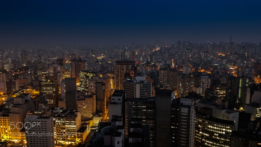 Photograph Sao paulo by night by Jean-Clément Turblin on 500px
