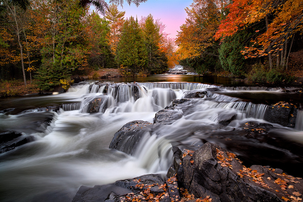 Photograph Autumn Magic At Upper Bond Falls by Steve Perry on 500px