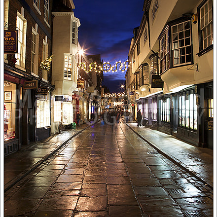 Stonegate at Christmas York, Canon EOS 5D, Canon EF 24-105mm f/4L IS