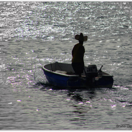 Fisherman, Canon EOS 600D, Sigma 18-200mm f/3.5-6.3 DC OS