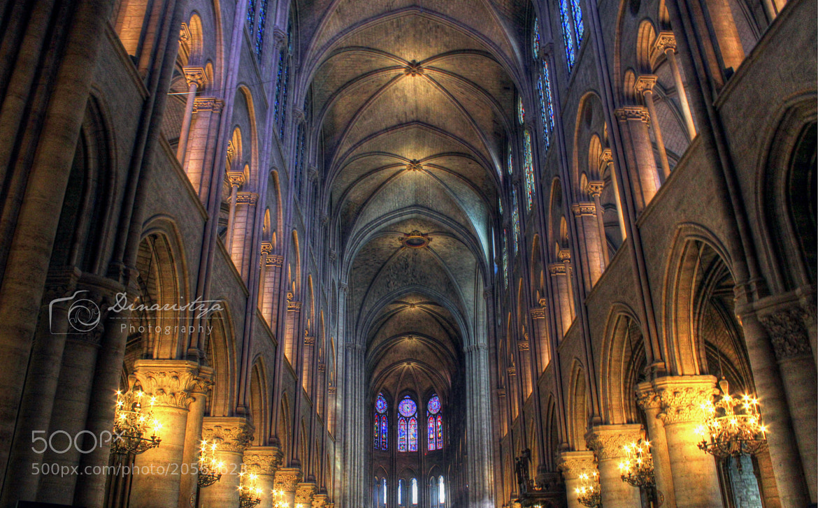 Photograph Notredame's Light by dinaristya mahiswari on 500px