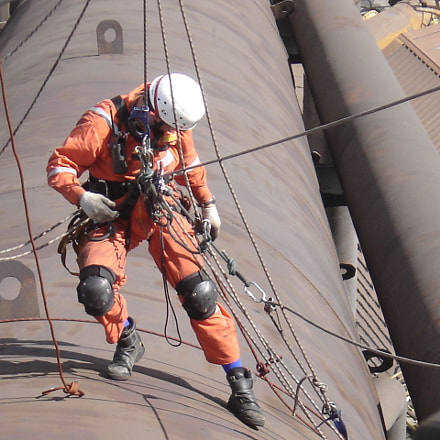 Rope Access Training, Sony DSC-P93