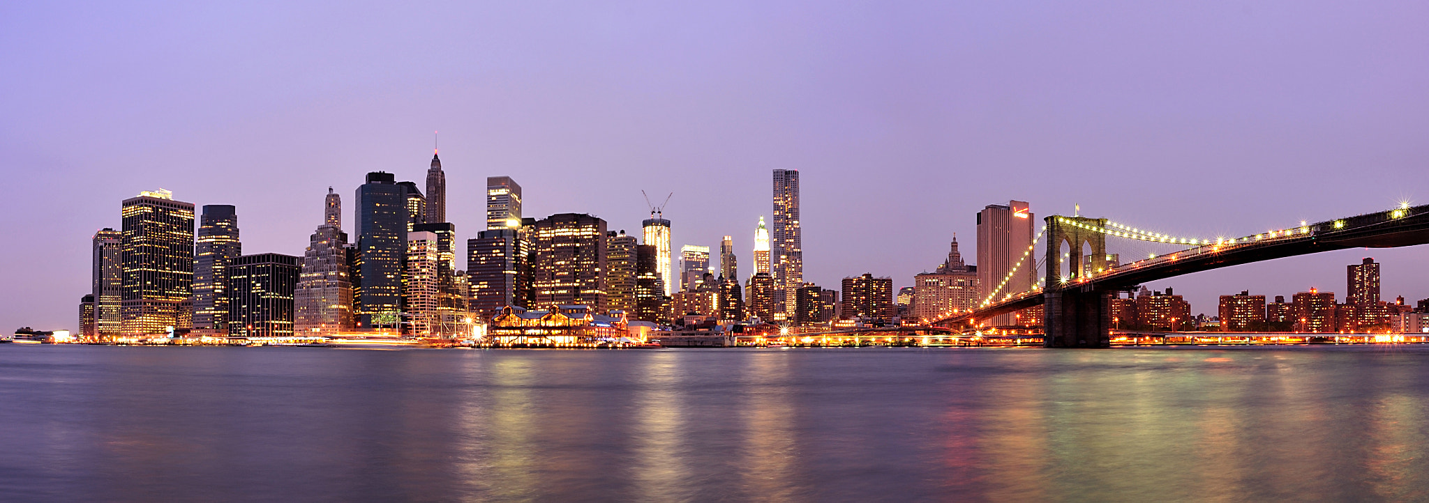 Photograph Manhattan at Night by Bryan Leung on 500px