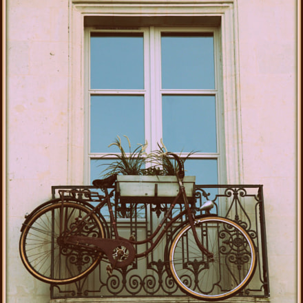 The bike suspended, Canon EOS 600D, Sigma 18-200mm f/3.5-6.3 DC OS
