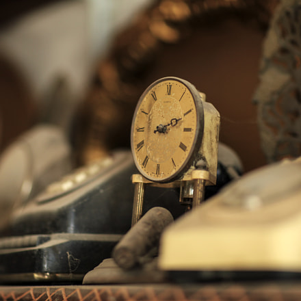 Old clock, Canon EOS 5D MARK II, Canon EF 85mm f/1.2L