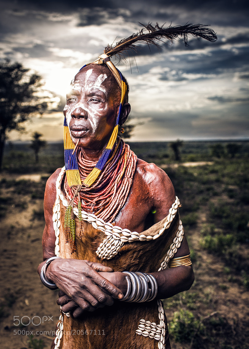Photograph Karo tribe Leader - OMO Valley by OZZO Photography on 500px
