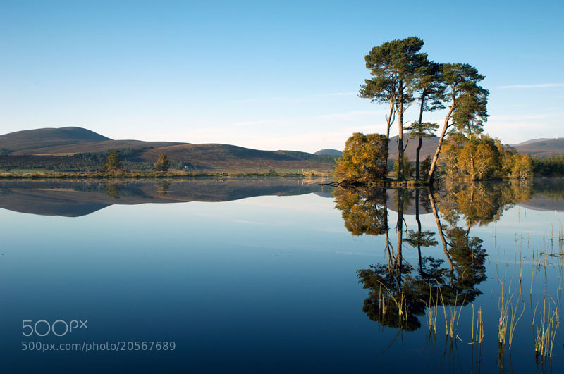 Photograph Lochan Dubh, Ardross, Ross-shire, Scottish Highlands by Heather Leslie Ross on 500px
