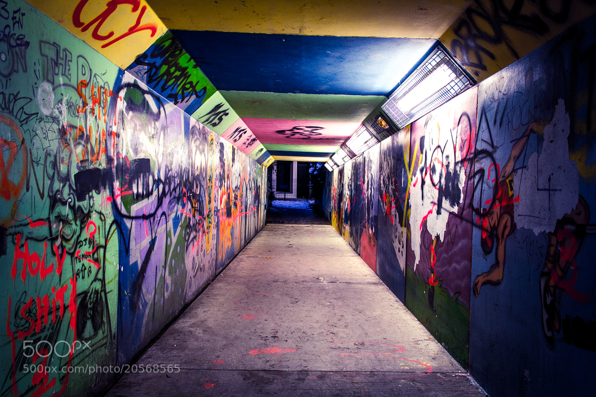 Photograph Tunnel by La Crapule  on 500px