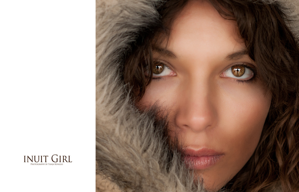 Photograph Inuit Girl by Tanja Renggli on 500px
