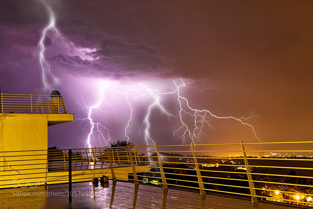 Photograph Lighting Storm II (reworked) by Kayman Studio on 500px