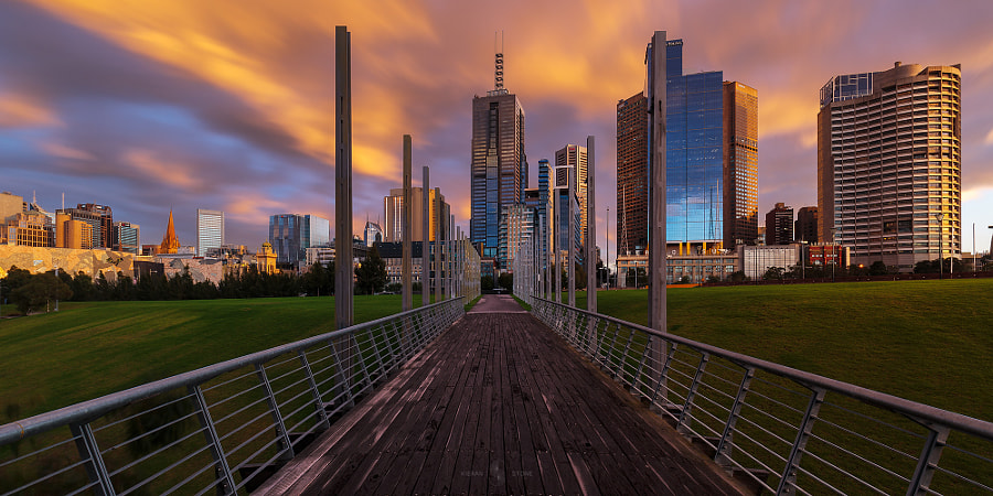 sunrise in the city by Kieran Stone on 500px.com