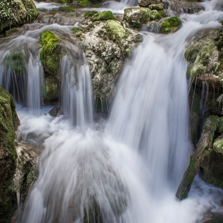 Waterfall, Canon EOS 1200D, Canon EF-S 18-55mm f/3.5-5.6 IS II