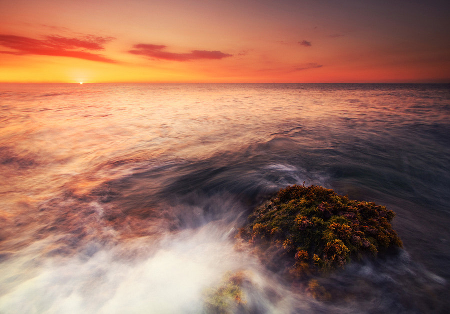 Photograph Sunrise on the Mediterranean Sea by Paweł Uchorczak on 500px