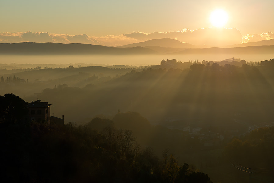 Photograph Sunset in Siena by Arnold Moolenaar on 500px