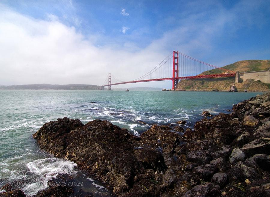 Golden Gate Bridge from Fort Baker.