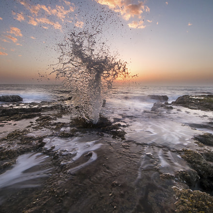 Natural fountain, Canon EOS 70D, Sigma 8-16mm f/4.5-5.6 DC HSM
