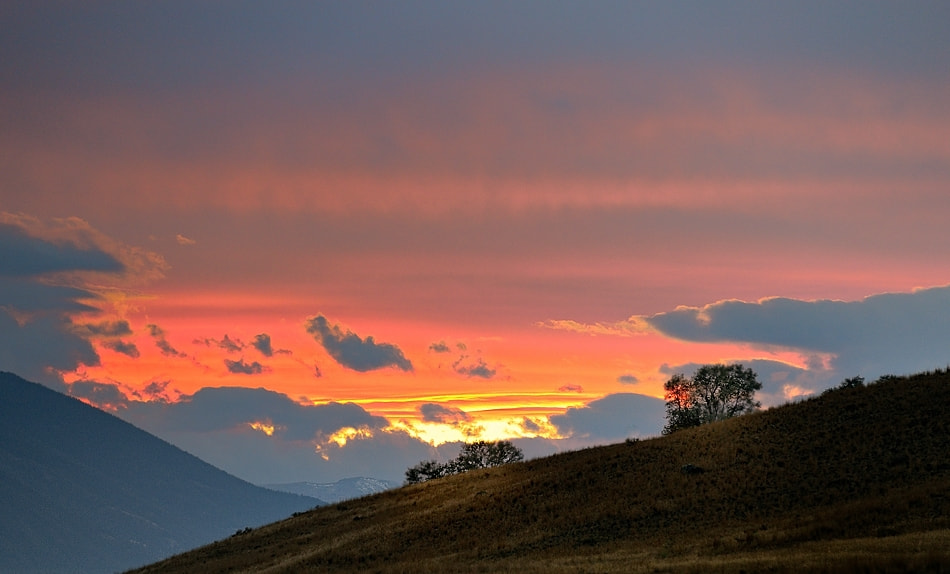 Photograph Montana sunset by Izidor Gasperlin on 500px