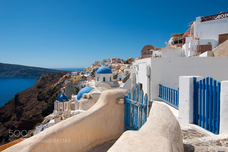 Oia, Santorini, Greece, Europe.
