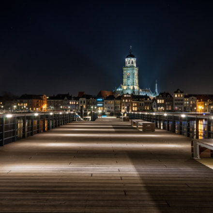 Deventer night view. , Nikon D90, Sigma 10-20mm F4-5.6 EX DC HSM