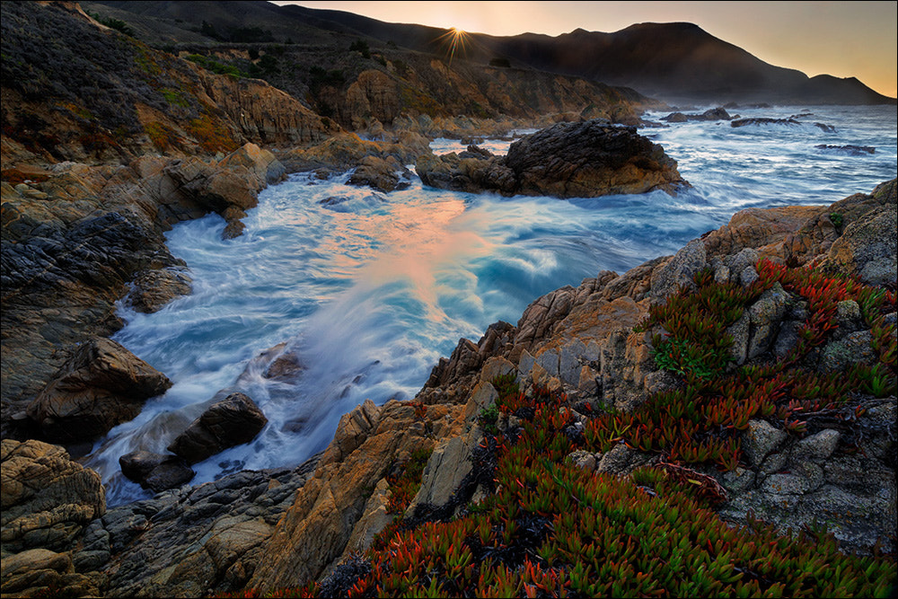 Photograph Sunrise and King Tide, Garrapata State Park by Don Smith on 500px
