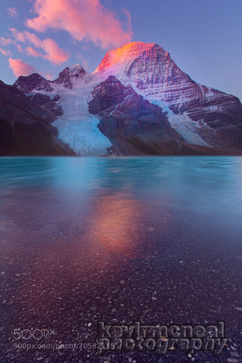 Photograph Mount Robson-Berg Lake Sunrise by Kevin McNeal on 500px