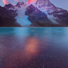 Mount Robson-Berg Lake Sunrise by Kevin McNeal (kevinmcneal)) on 500px.com