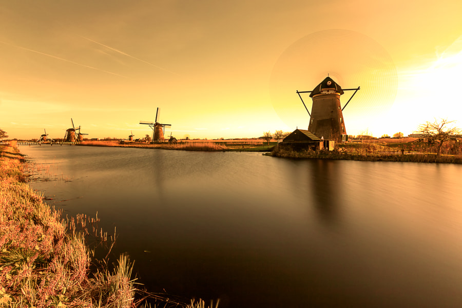 Kinderdijk @ its best!