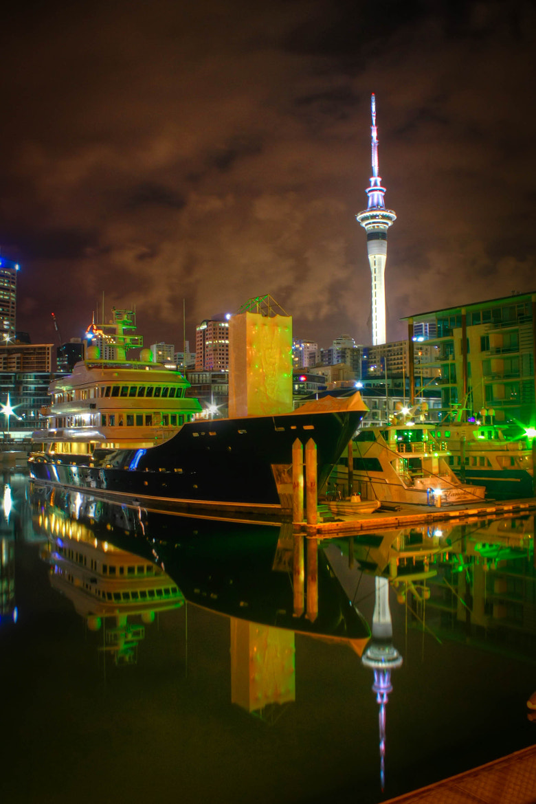 Photograph Auckland Viaduct Basin by Qallam Ahmad on 500px
