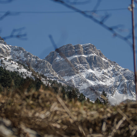 Mountain & Snow, Canon EOS 750D, Canon EF 75-300mm f/4-5.6 IS USM