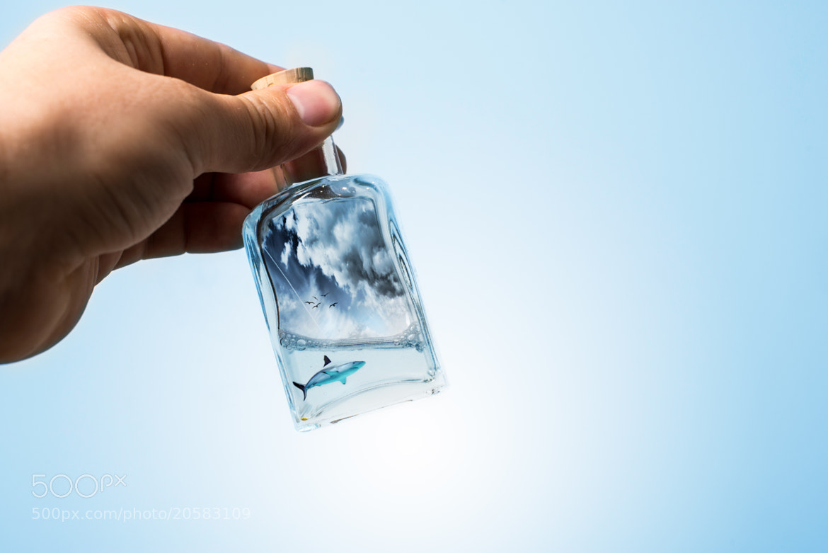 Photograph message in a bottle by Silviu Bondari on 500px