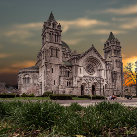 Cathedral Basilica of Saint, Sony NEX-3N, Zeiss Touit 12mm F2.8