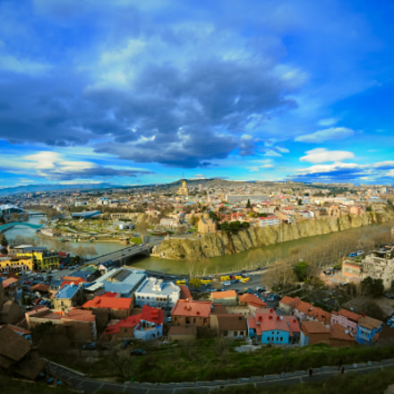 Tbilisi City, Nikon D700, Sigma 15mm F2.8 EX Diagonal Fisheye