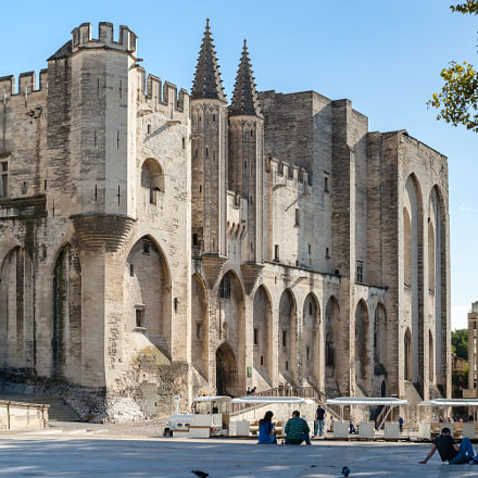 Palais Des Papes in, Sony DSLR-A900, Sony 50mm F1.4 (SAL50F14)
