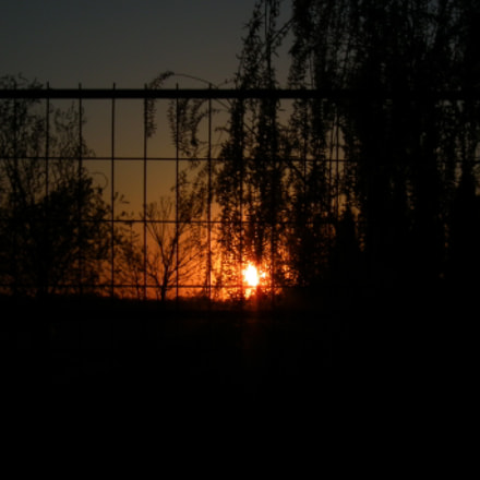 Sun goes down behind, Fujifilm FinePix HS10 HS11