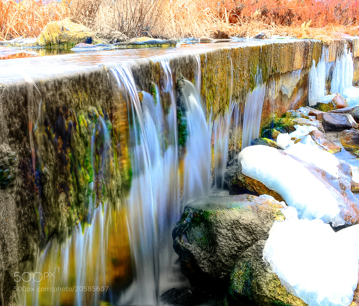 Photograph Winter Waterfall by Jeff Heredia on 500px