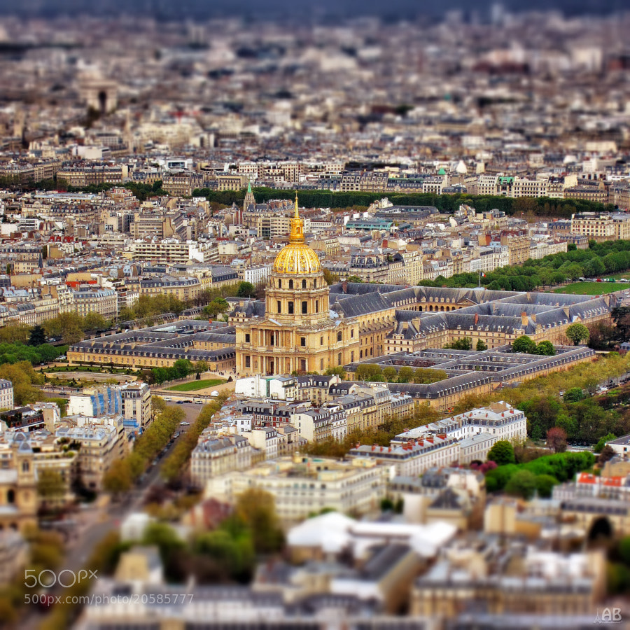 Photograph Invalides TS by Alexandra (Petrova) & Bharath Wootla on 500px