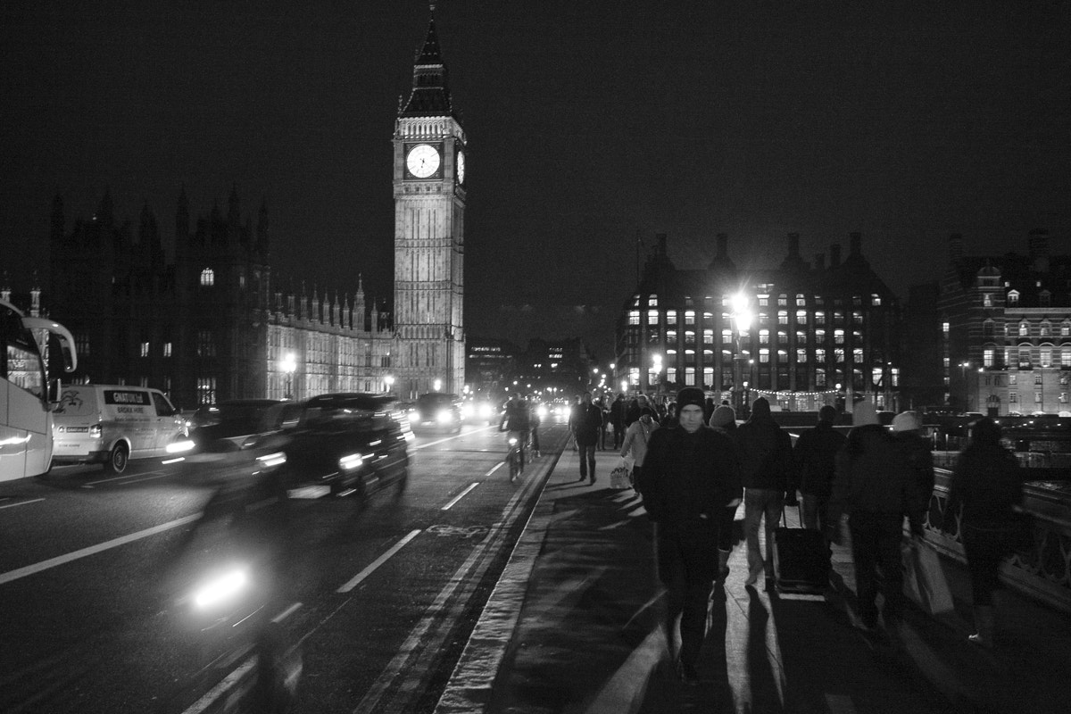 Photograph Traffic in Westminster by Luigi Cavasin on 500px
