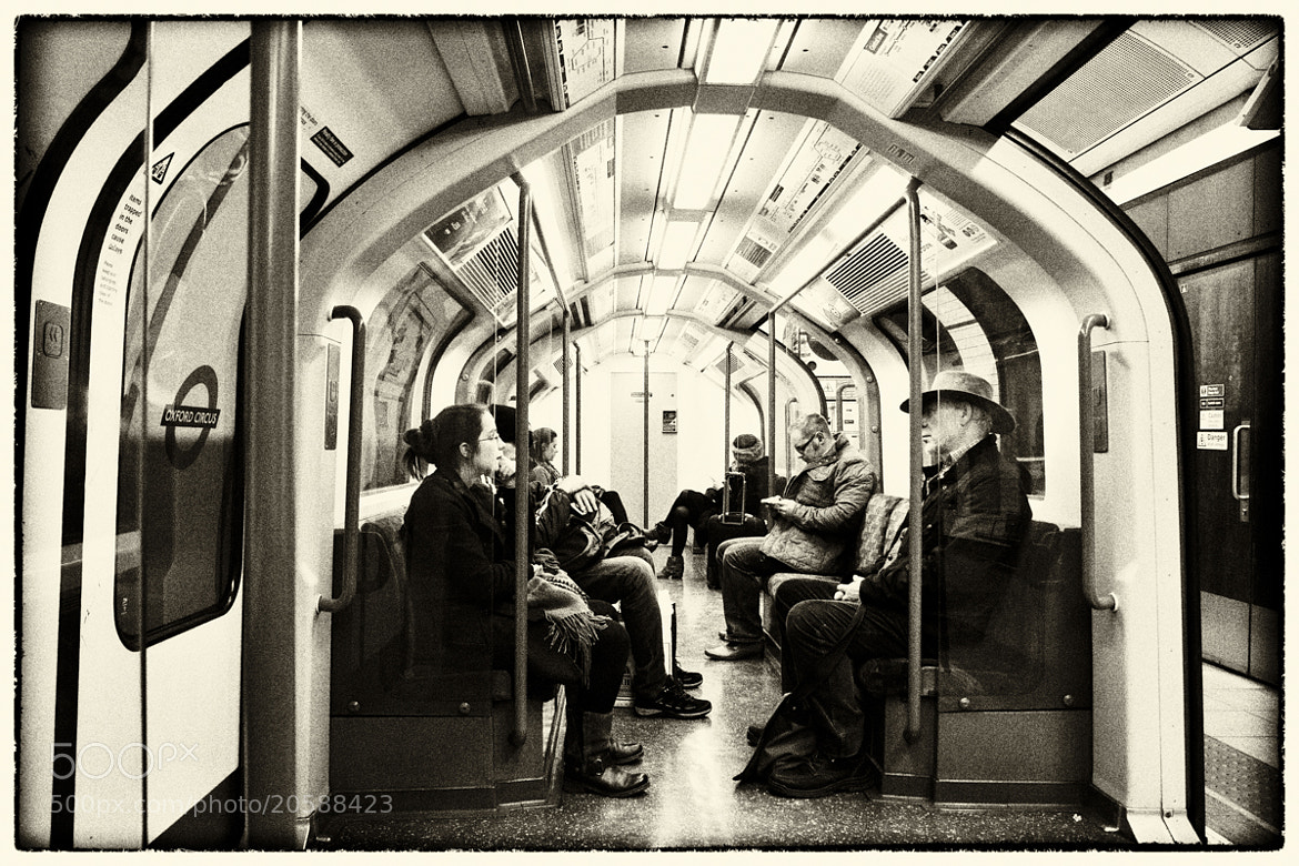 "Photograph ""Life"" in metro by Luigi Cavasin on 500px"