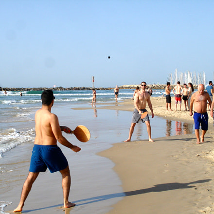 Beach game,Tel Aviv, Sony DSC-W100