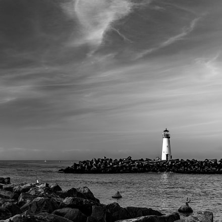 Walton Lighthouse, Sony ILCE-6000, Sigma 30mm F2.8 [EX] DN