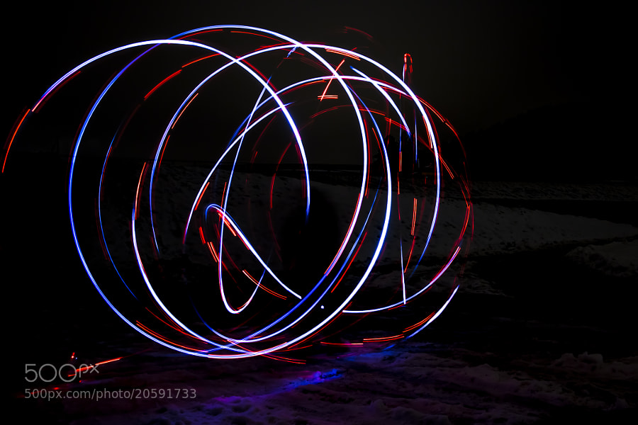 Photograph Lightpainting by Dominic Kurz on 500px