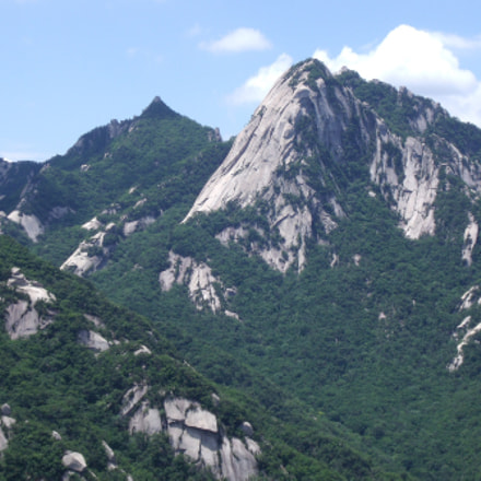 Insubong Peak In Summer, Fujifilm FinePix J110W