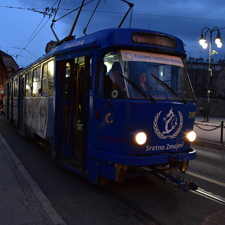 All aboard the night tram